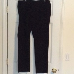 Amanda and Chelsea black dress pant size 14